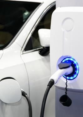 Power supply for electric car chargin